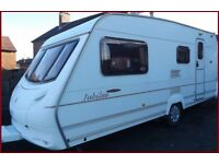 4 Berth BARGAIN Swift Ace Jubilee Luxury Touring Caravan Abbey Sterling Ace Group.