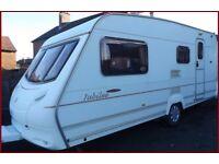 4 Berth BARGAIN Swift Ace Jubilee Luxury Touring Caravan Abbey Sterling Ace Group.