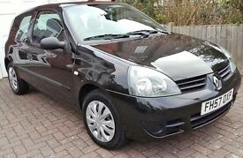 Renault Clio campus 1.2 , 57 plate, just 38k mls !! Perfect example, 1 owner, FSH, long MOT