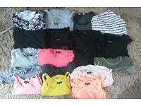 Lovely bundle of maternity tops/clothes/bundle - size 8