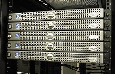 Dell PowerEdge 1750  Dual XEON 2.4Ghz + 2 x 512Mb - 1U