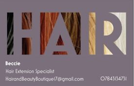 Hair Extensions in Batley (Hanging Heaton area)