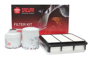 FILTER KIT OIL AIR FUEL MITSUBISHI TRITON ML MN 4D56T Carrick Meander Valley Preview
