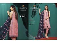Pakistani Indian Asian clothes chiffon pink