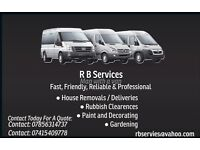 R B Services - man with a van