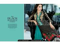 Indian Pakistani designer suite