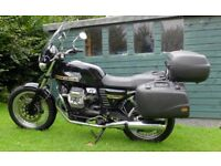Moto Guzzi V7 Classic, low mileage with many extras