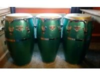 Set of 3 LP Matador Raul Rekow congas