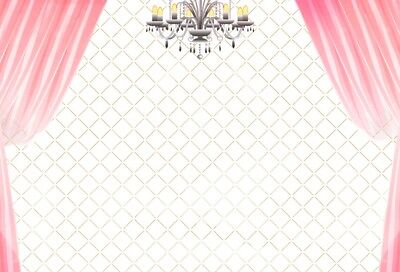 Banquet Pink Curtain Photography Background Beige Grid Wall Party Prom - Prom Background