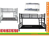 single top double bottom trio sleeper metal bunk base Bed