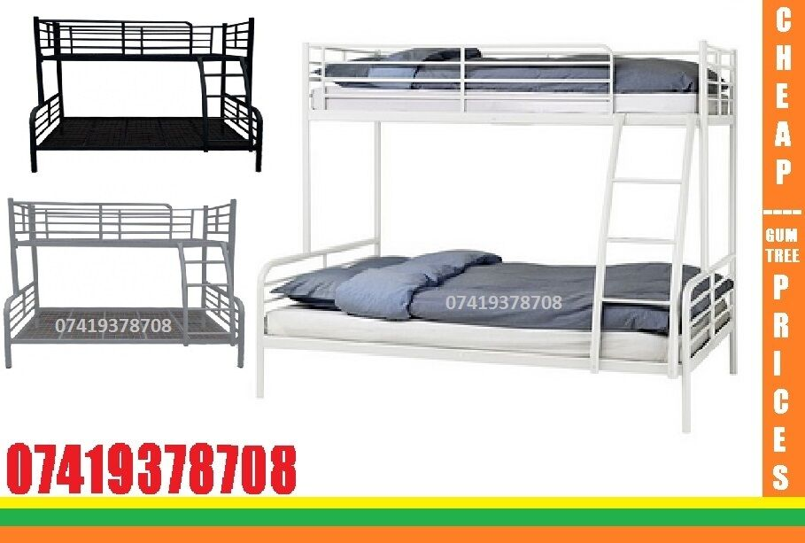 AB DoubleBottom With SIngle Top Bunk Base/ Beddingin Forest Hill, LondonGumtree - We provide you the best quality of Beds and other Furniture at minimum cost You wouldnt get that much good quality from anywhere else Feel Free to contact us anytime