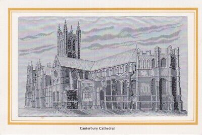 STEVENGRAPH THOMAS STEVENS STYLE SILK IMAGE BROUGH NICOLSON CANTERBURY CATHEDRAL