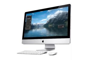 Apple iMac 2011 27 inch + Thunderbolt dock + Lacie 2TB HDD Footscray Maribyrnong Area Preview
