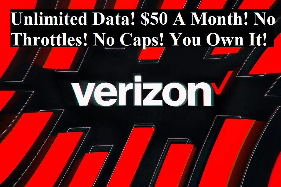 Verizon Original Unlimited Hotspot Plan- $50 a month. Grandf