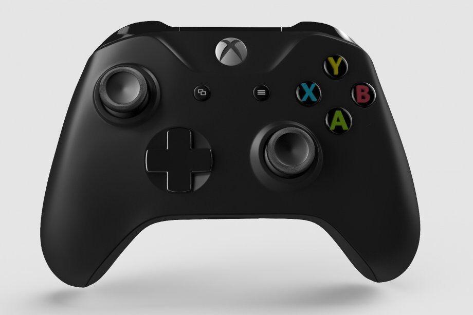 Купить Microsoft Xbox One - Original - New Official Microsoft Xbox One X Controller Wireless Black Bluetooth Windows 10