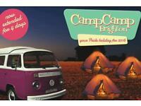 3 Day Brighton Camping Ticket