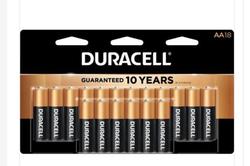 duracell aa batteries 18