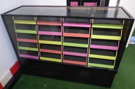 Office storage haberdashery unit furniture 20 drawers collection london e8 3bq