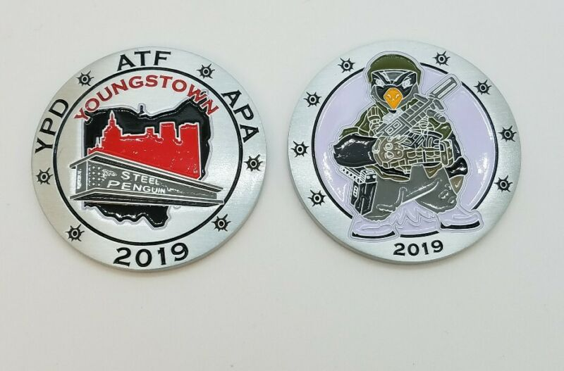 ATF Task Force Coin Youngstown OH