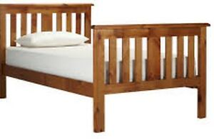 Six-month old Wooden King Single Bed Frame for Sale. Wooloowin Brisbane North East Preview