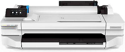 Hp Designjet T130 24 Wide Large Format Color Printer Cad Pdf Wifi New