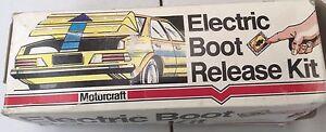 ELECTRIC BOOT RELEASE KIT  MOTORCRAFT