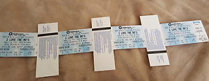 I love the 90s tickets x 4 - Exceptional seats Evatt Belconnen Area Preview
