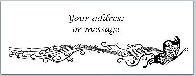 30 Personalized Return Address Labels Music Notes Buy 3 Get 1 Free Bo 761