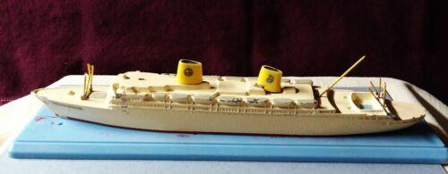 Swedish American Line GRIPSHOLM 1957 cruiseship waterline model NAVARINO Regent