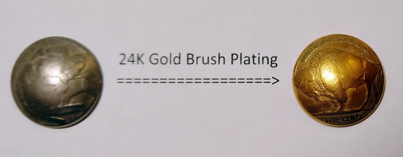 Лабораторный химикат DS-1: 24K Yellow Gold Plating Solution, Brush