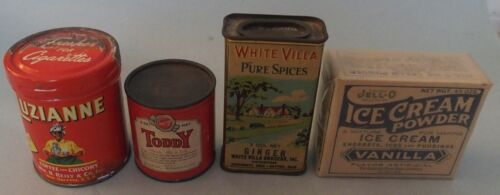 NICE GROUP OF EARLY KITCHEN ADVERTISING ITEMS ALL FOR ONE PRICE