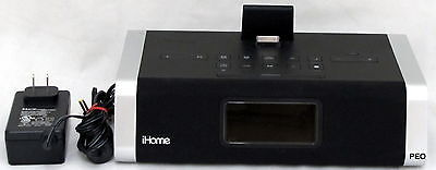 Ipod Nano Dock Stereo (iHome iD45 iPod iPhone Speaker Dock Cradle Portable Black Stereo Nano Touch )