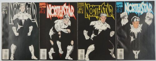 Northstar #1-4 VF/NM complete series - gay super hero - alpha flight spin-off