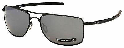 Oakley Gauge 8 OO4124 0262 Matte Black Frame / Prizm Black Polarized Lenses