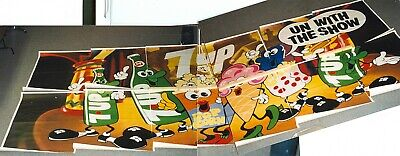 7 up billboard collectible advertising 7 up vintage rare