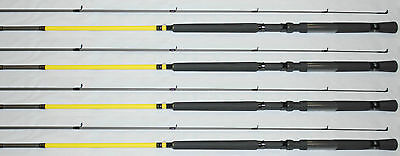 2ea JIMMY HOUSTON XTREME PERFORMANCE CRAPPIE FISHING POLES 10/' JHPSG-102 SET-2