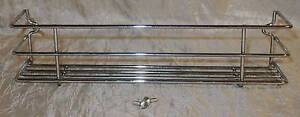 Wall Mounted Silver Chrome Metal Spice Shelf Rack Organiser South Windsor Hawkesbury Area Preview