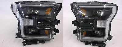 2015-2017 Ford F-150 OEM  Black Special Edition LED Headlight Kit