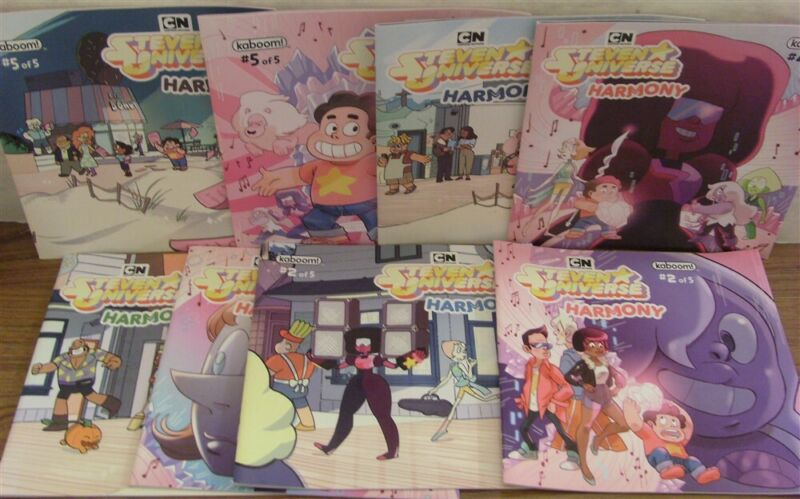 STEVEN UNIVERSE HARMONY 2 3 4 5 KABOOM SUBSCRIPTION PREORDER VARIANT LOT 2018 NM