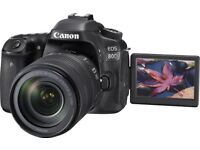 Wanted Canon DLSR Higher End The Better 80D and above may take kit if its good enough...?