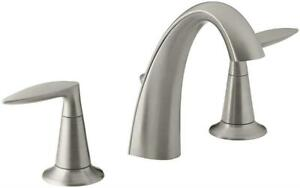 NEW Kohler K-45102-4-BN Alteo Widespread Lavatory Faucet, Vibrant Brushed Nickel Condtion: Like New. Some very light ...