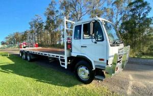 2007 Nissan UD PK265 12 pallet tray with Moffett M8 2.5 tonne (*$497 per week) Narre Warren Casey Area Preview