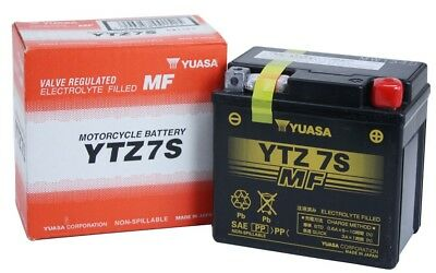 Yuasa YTZ7S Husaberg All Electric Start Models '13 '13 AGM Activated 12v Battery
