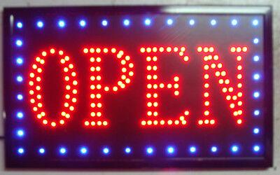 Led Bar Sign Pub Club Window Display Light Lamp Restaurant Shop Takeaway Open
