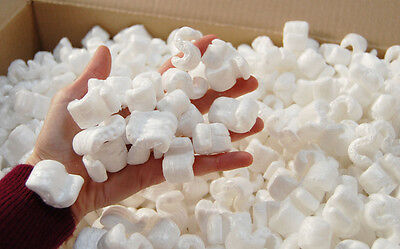 LARGE BOXED PACKING PEANUTS  VOID FILL PACKING CHIPS POLYSTYRENE