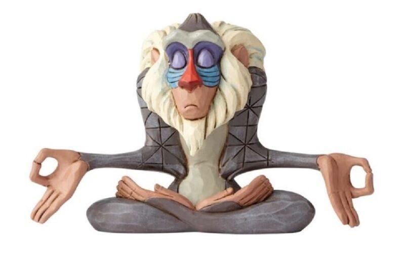 Jim Shore Disney Rafiki from The Lion King Meditating Miniature Figurine 6000962