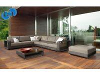Premium 8 piece sectional Rattan Sofa Set