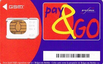 L1) carte de GSM proximus S.2.01