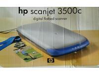 Unused HP Scanjet 3500c Digital Flatbed Scanner