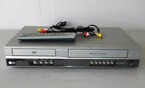 LG DVD PLAYER / VIDEO VHS CASSETTE RECORDER COMBO V271 + REMOTE Bexley Rockdale Area Preview